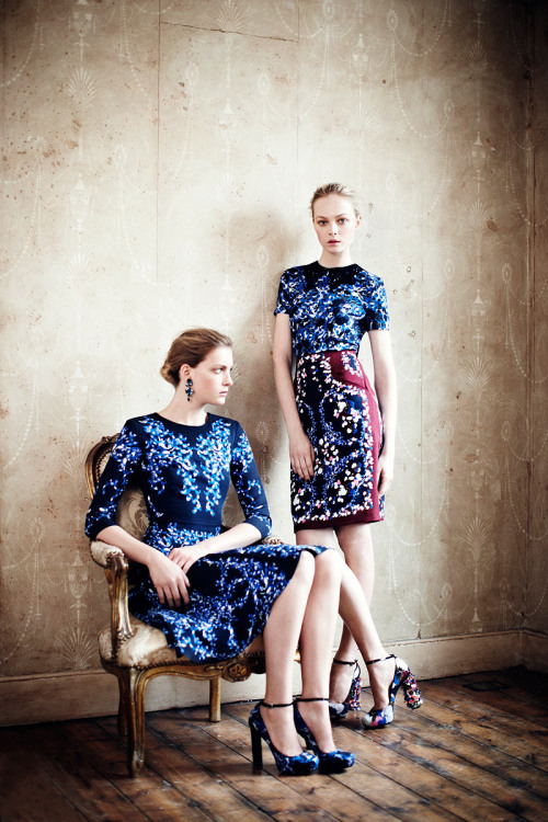 vogue:  Erdem Resort 2012 Photo: Boo George Visit Vogue.com for the full collection and review.