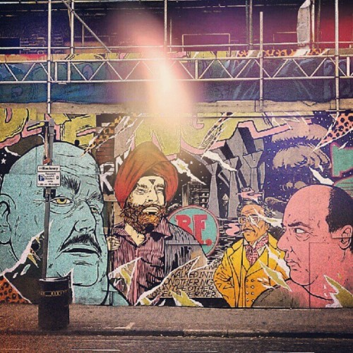 #streetart #london #graffiti  (Taken with instagram)