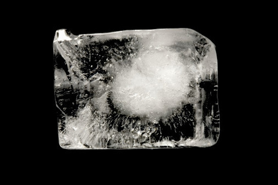 Why does Ice Crackle? - Ice cubes crackle when you put them in water because the ice warms and expands. However, ice doesn't conduct heat very well, so the outside ice expands before the inner. This causes pressure to increase and physically cracks the centre of the ice cube.