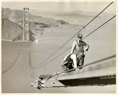 motherjones:  Happy birthday, Golden Gate Bridge.