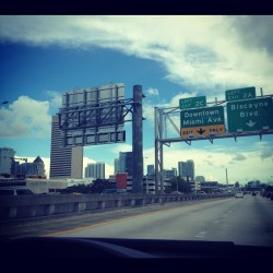 #downtown #miami #city  (Taken with instagram)