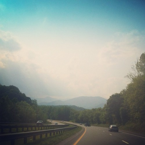theohpioneer:  The mountains are calling (Taken with instagram)