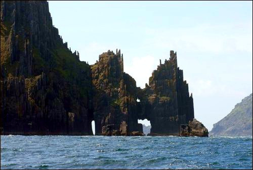 Cathedral rocks. by rowanseamus on Flickr.