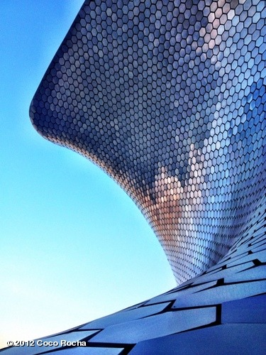 Ok, last picture of the Soumaya Museum. I'm kinda obsessed. View more Coco Rocha on WhoSay