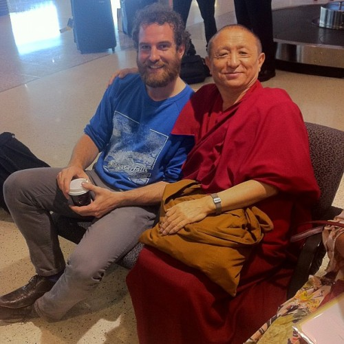Don't forget to befriend a monk every now and then while traveling. (Taken with instagram)