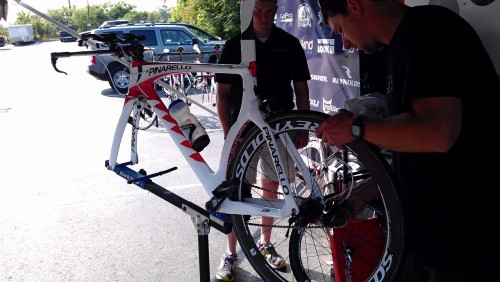 @gitabike Graal dialed, ready to rock tomorrow at the @usaprocycling ITT National Championship!