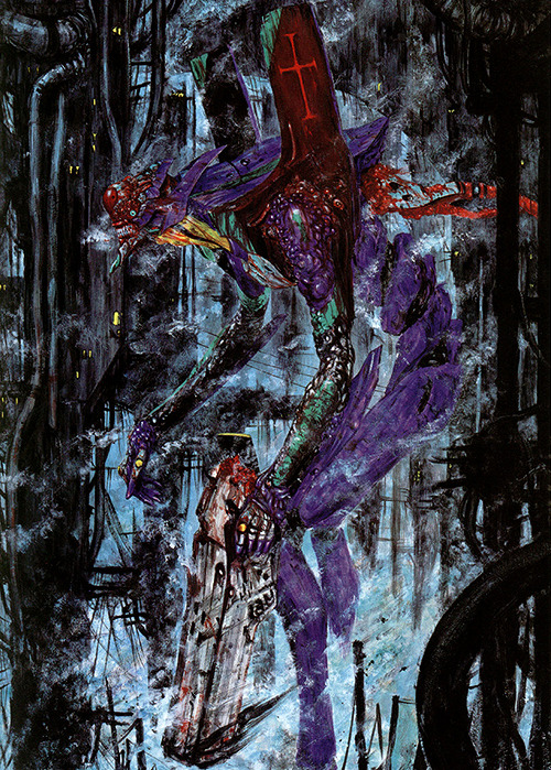 zombiejig:  Collaboration with EVANGELION -Tsutomu Nihei