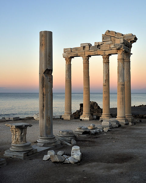 The Temple of Apollo -Side, Turkey