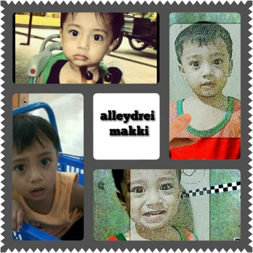 My son makki.. Always be a goodboy. . I love both makki and ney. .  (Taken with instagram)