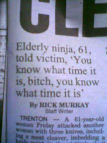 austinvesely:  Elderly ninja.
