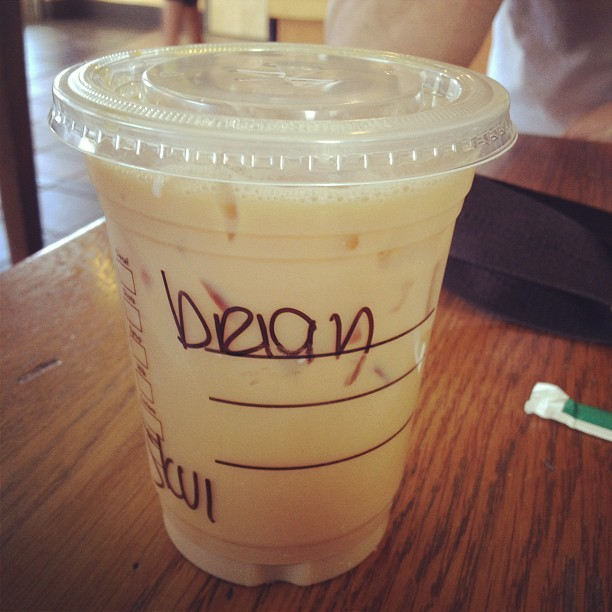 Brian or Bean? #starbucks #coffee (Taken with Instagram at Starbucks)