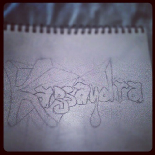 I was so bored ! ^^  (Taken with instagram)