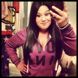 #Pink #hoodie #Comfy #Straighthair #Merp (Taken with instagram)