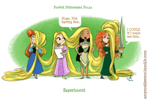 amymebberson:  Pocket Princesses 20: Experiment