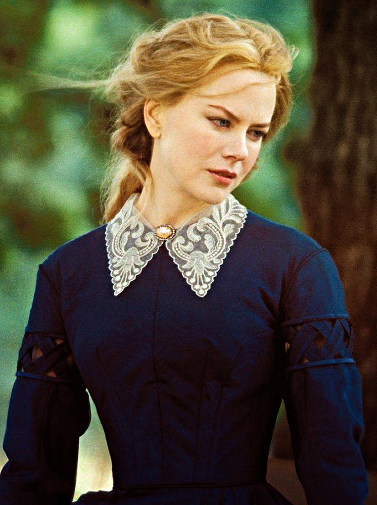 NICOLE KIDMAN OMNOMNOM!In other news, the movie ending to Cold Mountain is WAY better than the book.