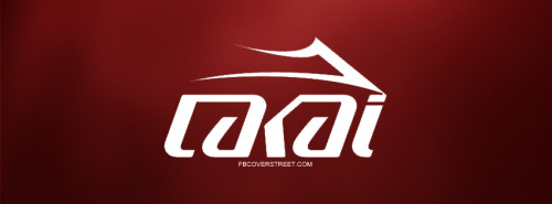 Lakai Logo Red Facebook Cover