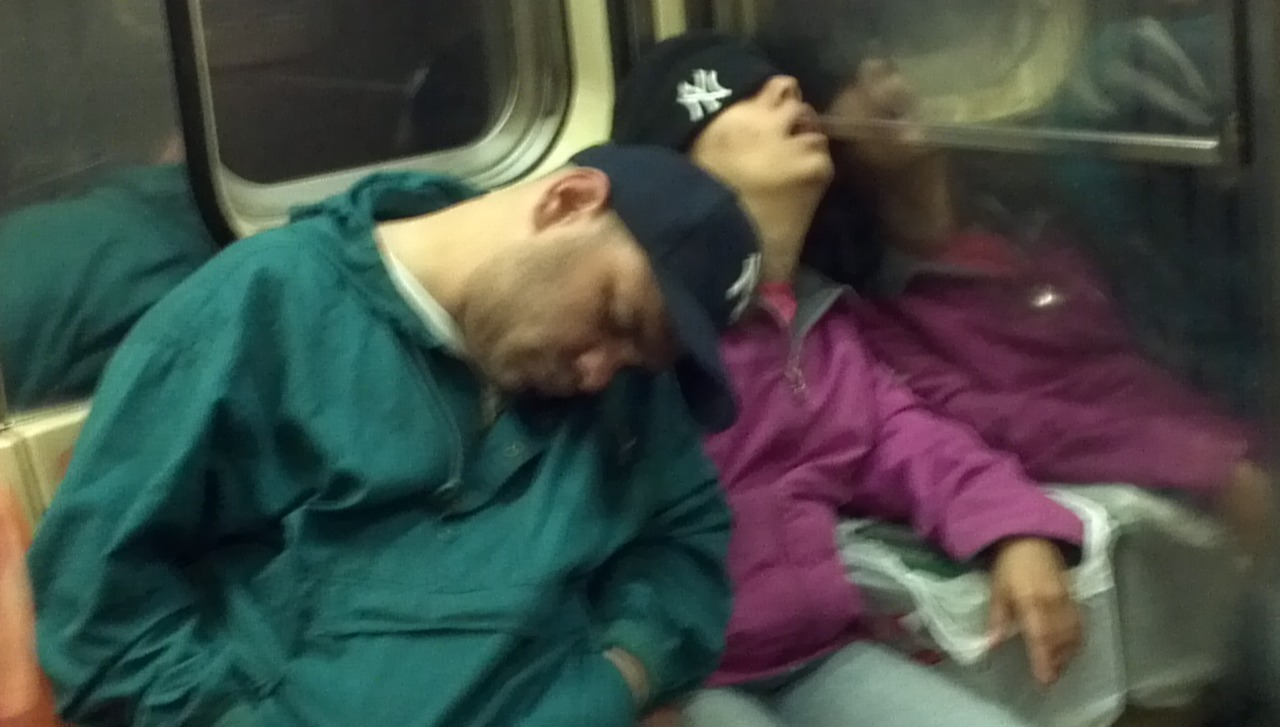 An excellent subway sleeper from our dear friend Tzvi Lazar. Many thanks buddy! New York, NY