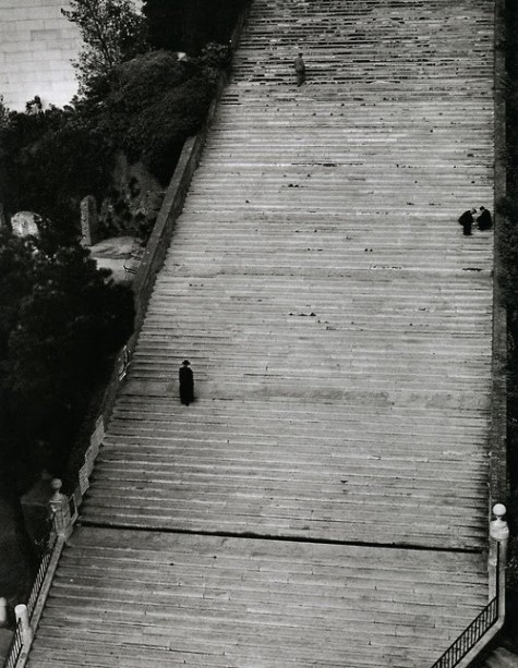 Herbert List Stairway to heaven, Rome, 1949