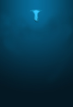 somethingcoolandedgy:  oceanatdusk:  This is why the ocean scares me so much its not the sharks, nor the giant fucking squid its just the vast emptiness.