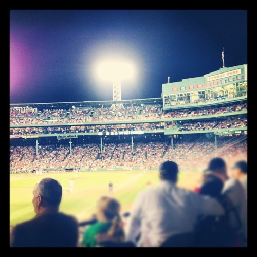 #instagram #igersboston #iheartboston #redsox #bostonredsox #fenwaypark #fenway #boston #friendlyconfines (Taken with instagram)
