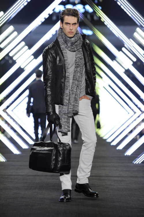 Jon Kortajarena for Boss Black FW 2012