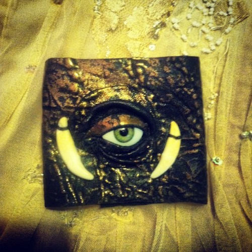 @michaelscorpio #coyotetooth #evileye  (Taken with instagram)