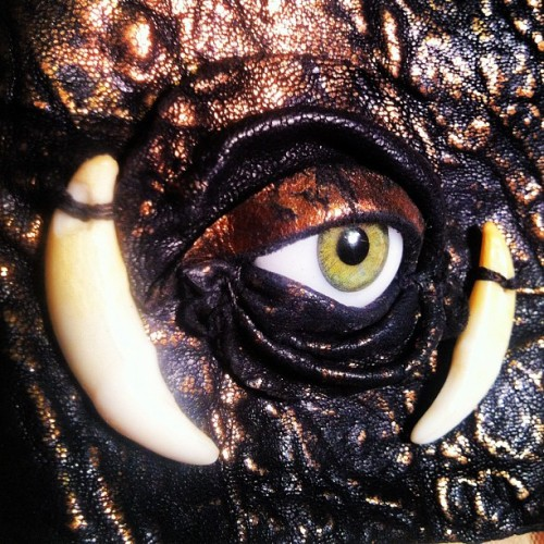 @michaelscorpio #evileye #coyotetooth  (Taken with instagram)