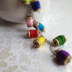 Miniature Spool necklace