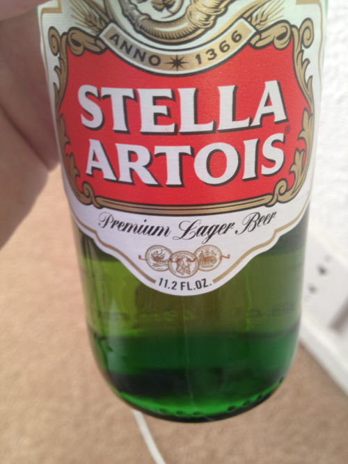 fencehopping:  I just realized Stella is only 11.2 ounces. Wtf?    Bull shit!