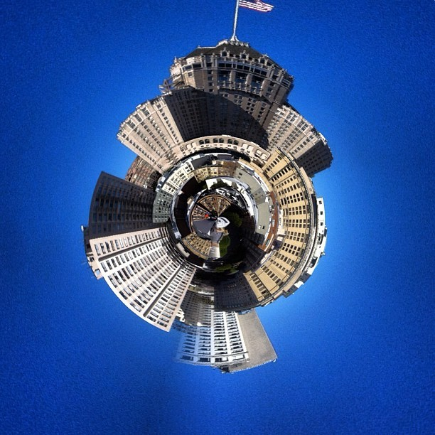 San Francisco tiny planet #iphone #crazyness  (Taken with instagram)