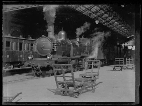 Eugene Truat, Locomotive, Toulouse, France, 4 October 1899. Source: City Archives of Toulouse