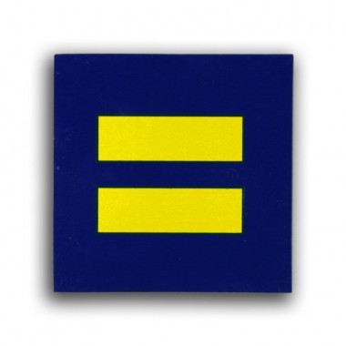 Bumper Sticker $3 http://shop.hrc.org/accessories/sticker-equalty-static-cling.html