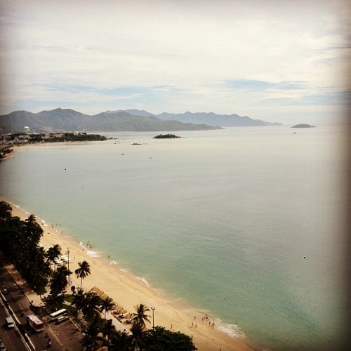 Good morning Nha Trang! #view from the #balcony #travel #nhatrang #vietnam  (Taken with Instagram at Sheraton Nha Trang Hotel & Spa)
