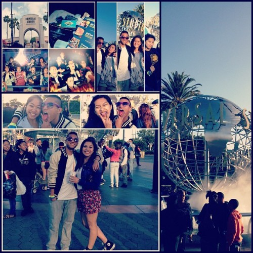 Last day of #gradnite… It's depressing but oh we'll time to go back to reality. Just left Universal Studios😔 (Taken with instagram)