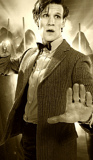 095/100 of Matt Smith in Sepia.