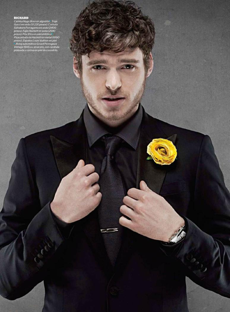 Kit Harington || Richard Madden Esquire México, May '12