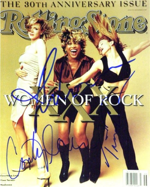 Rolling Stone November 13 1997 #773 Women of Rock Cover with Tina Turner Madonna and Courtney Love