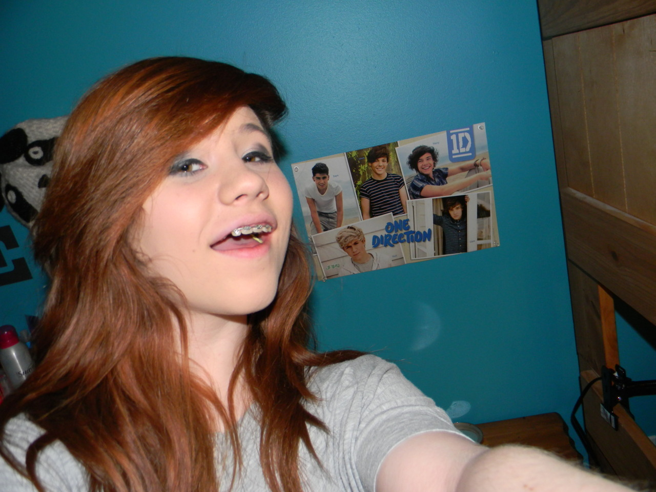 Me hanging out with the boys <33333333