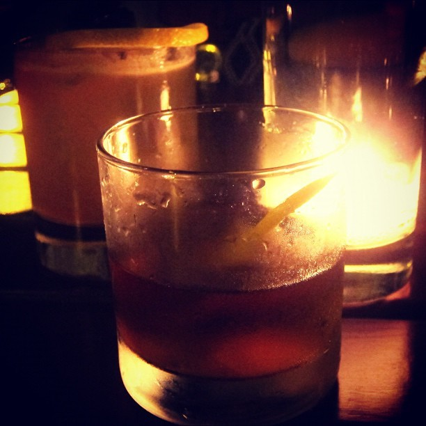 holiday weekend in brooklyn, new york city, sazerac and bourbon edition. (Taken with Instagram at Prime Meats)