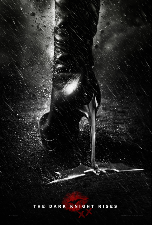 A secret poster for The Dark Knight Rises has been found! Yes, it's legit.