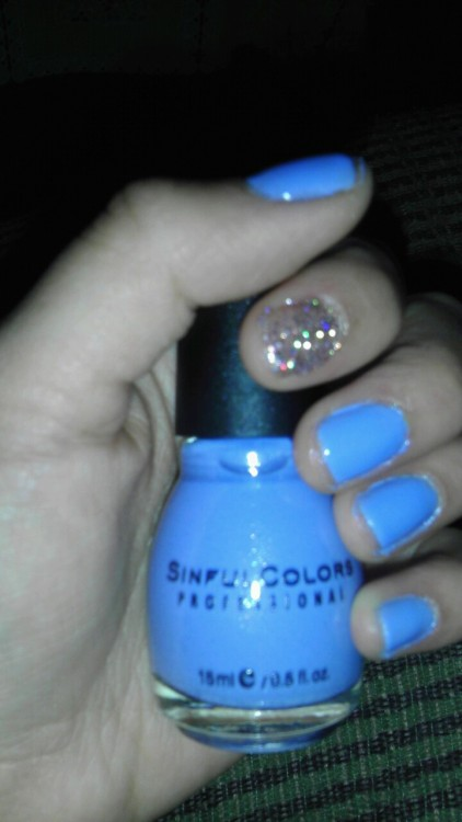 My nails as for right now :)