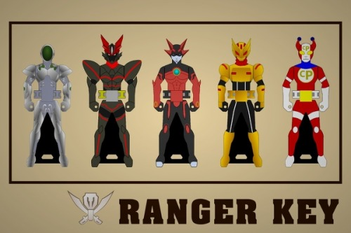 I so want a Zetman and Silver Crow ranger key.