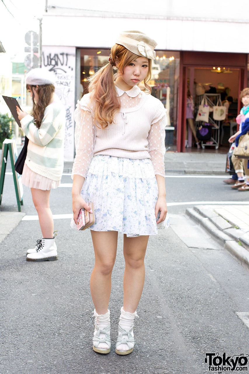 Supercute Mio from the popular Harajuku resale shop G2? wearing - you guessed it - resale fashion!