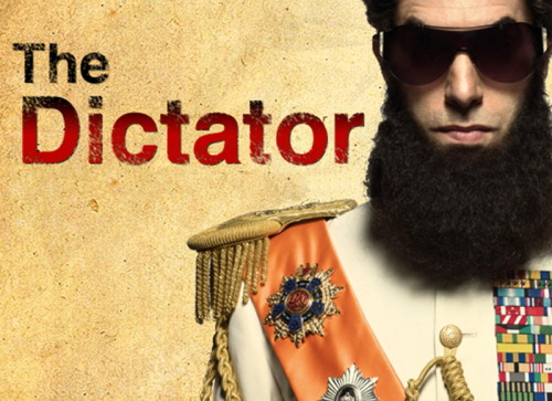 "Movie Ratings on a Random Scale: The Dictator - 39 out of 61 - Perhaps the most surprising thing about The Dictator is that it's not completely terrible. There are some truly hilarious moments, and many other painful ones. If you are immune to being offended, you may enjoy this one quite a bit. Any movie that opens ""In Loving Memory"" to Kim Jong Il can't be all bad, right? I'll admit to laughing quite a bit despite having to say that this movie isn't very good, it can be pretty enjoyable…and there are a few bust the gut laughing moments including the funniest tourist helicopter ride I could ever imagine. The Dictator isn't great, and Sasha Baron Cohen may be dangerously close to his expiration date, but I couldn't help but enjoy this flick…even as I fully acknowledge that it's not very good."