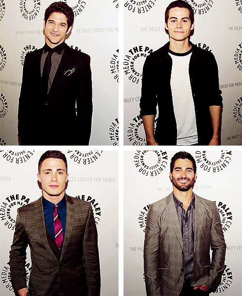 mtv:  The boys of Teen Wolf at last week's premiere event in Los Angeles.  hotties!