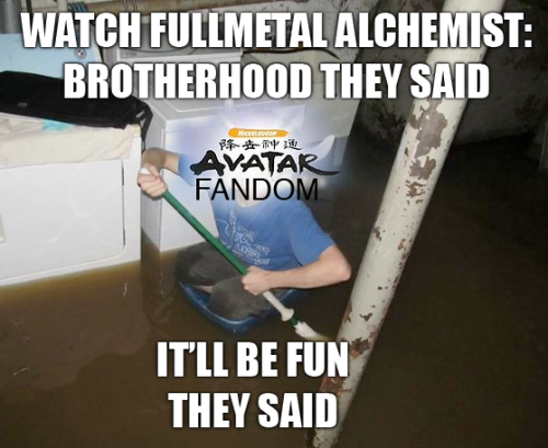 meatandsarcasm:  avatarsnowy:  i made a thing PS the water is your tears    ARE YOU NOT ENTERTAINED?
