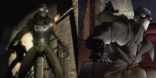 Spider-Man Noir looks fucking badass!!