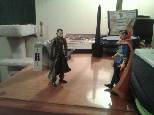 Lol, Loki doesn't trust Doctor Strange. Fff. Apparently, when it comes to these two guys, I'm 8. XD no regrets. ALSO, thanks to MrHiddles they are now officially called MAGIC BROS for a ship. Because, it's awesome and amazing.