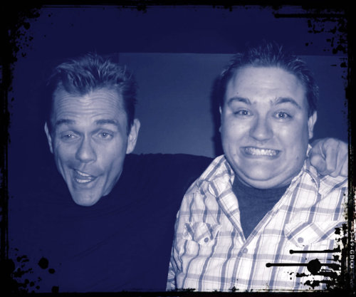 The comedic genius Christopher Titus and I. Comedy Works South in Greenwood Village, CO. August 19th, 2011.