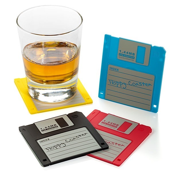I need to make me some floppy coasters. Reminds me of another project I was supposed to have been working on ….
